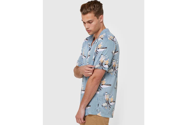 Elwood Men's Pico Resort Shirt (Teal, Size M)