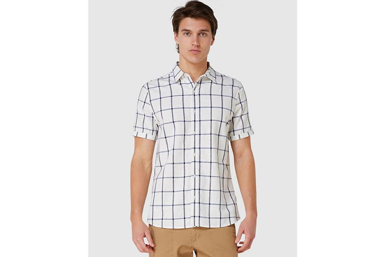 Elwood Men's Fraser Shirt (White, Size L)