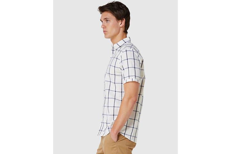 Elwood Men's Fraser Shirt (White, Size S)