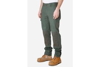 Elwood Men's Utility Pant (Army, Size 38)