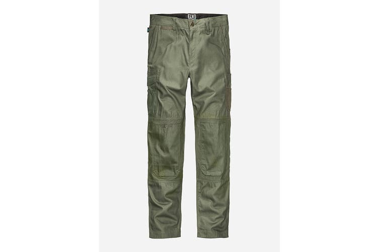 Elwood Men's Utility Pant (Army, Size 40)
