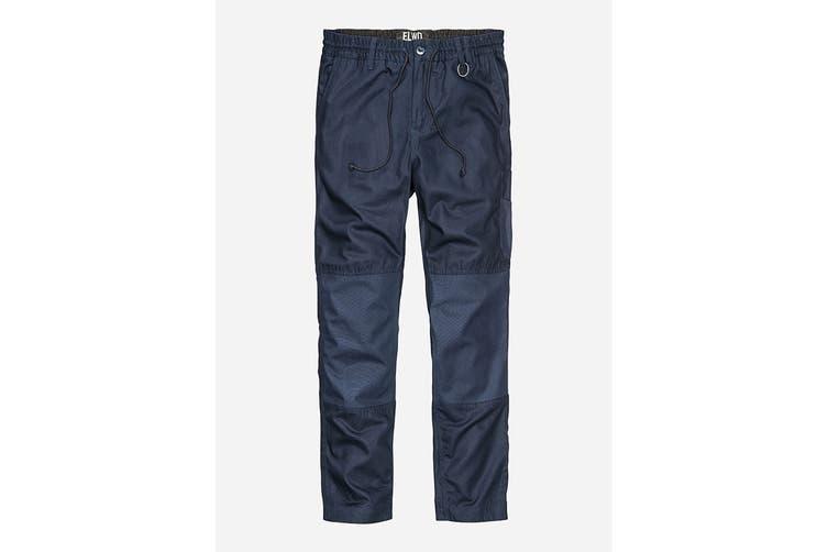 Elwood Men's Elastic Pant (Navy, Size 30)