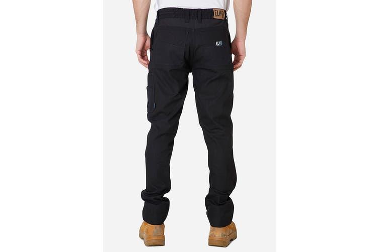 Elwood Men's Elastic Pant (Black, Size 32)