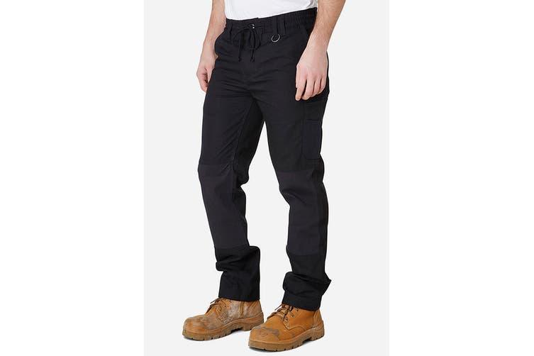 Elwood Men's Elastic Pant (Black, Size 36)
