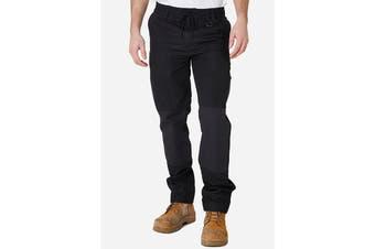 Elwood Men's Elastic Pant (Black, Size 38)