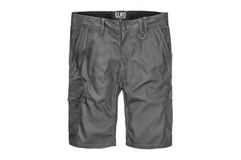 Elwood Men's Utility Short (Charcoal)