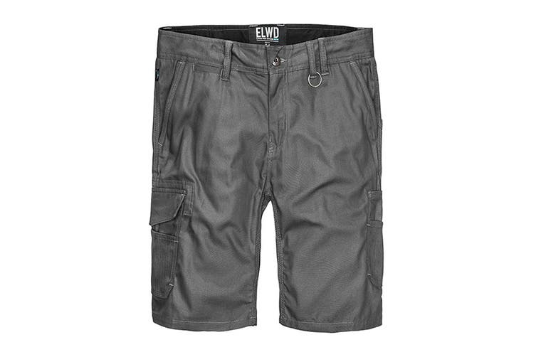 Elwood Men's Utility Short (Charcoal, Size 32)