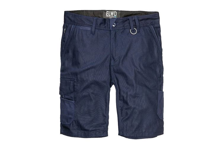 Elwood Men's Utility Short (Navy, Size 34)