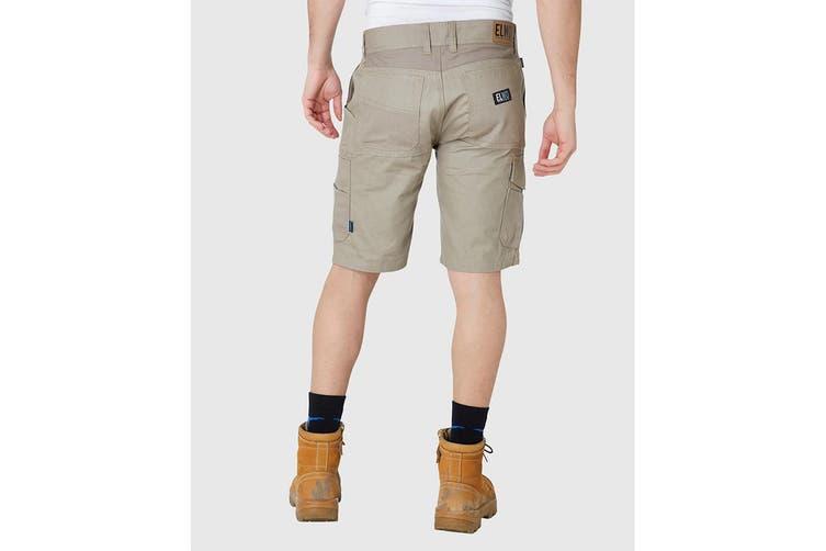 Elwood Men's Utility Short (Stone, Size 32)