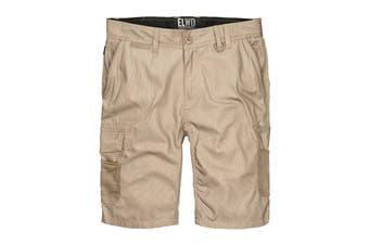 Elwood Men's Utility Short (Stone, Size 36)