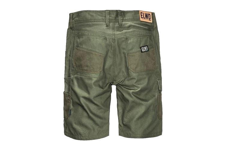 Elwood Men's Utility Short (Army, Size 32)