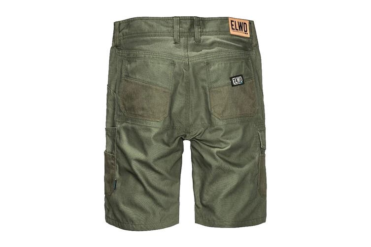 Elwood Men's Utility Short (Army, Size 36)