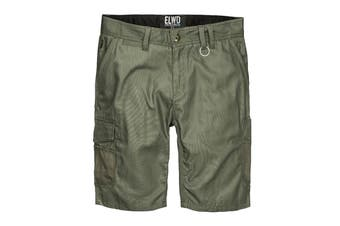 Elwood Men's Utility Short (Army, Size 44)