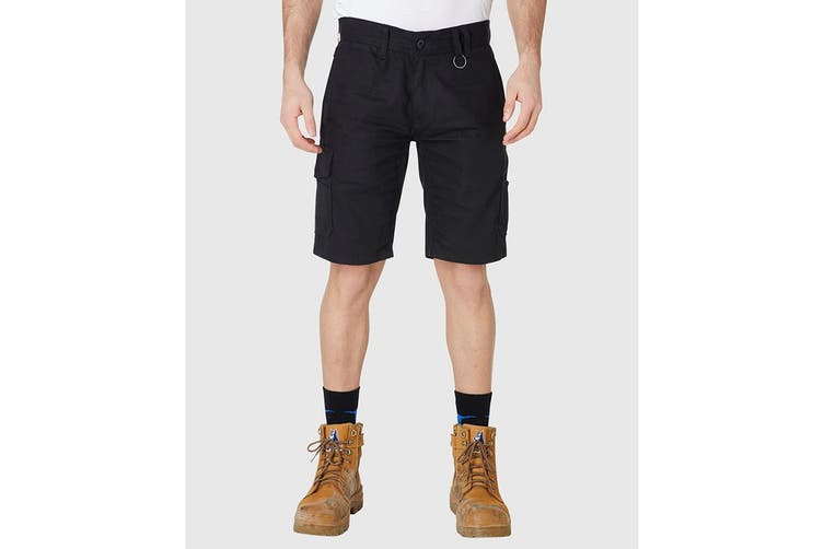Elwood Men's Utility Short (Black, Size 38)