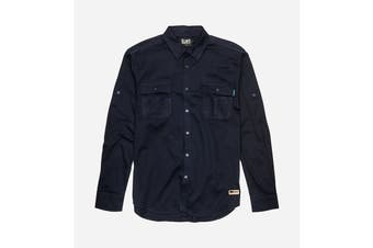 Elwood Men's Utility Shirts (Navy)