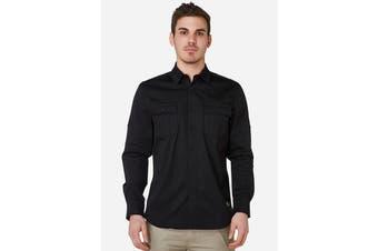 Elwood Men's Utility Shirts (Black)