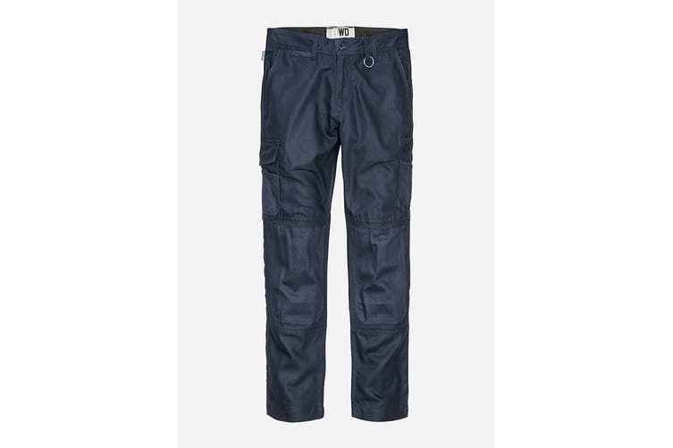 Elwood Women's Utility Pant (Navy, Size 18)