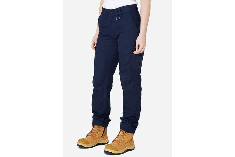 Elwood Women's Utility Pant (Navy, Size 8)