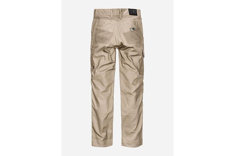 Elwood Women's Utility Pant (Stone, Size 6)