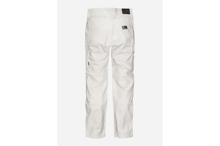 Elwood Women's Utility Pant (White, Size 6)