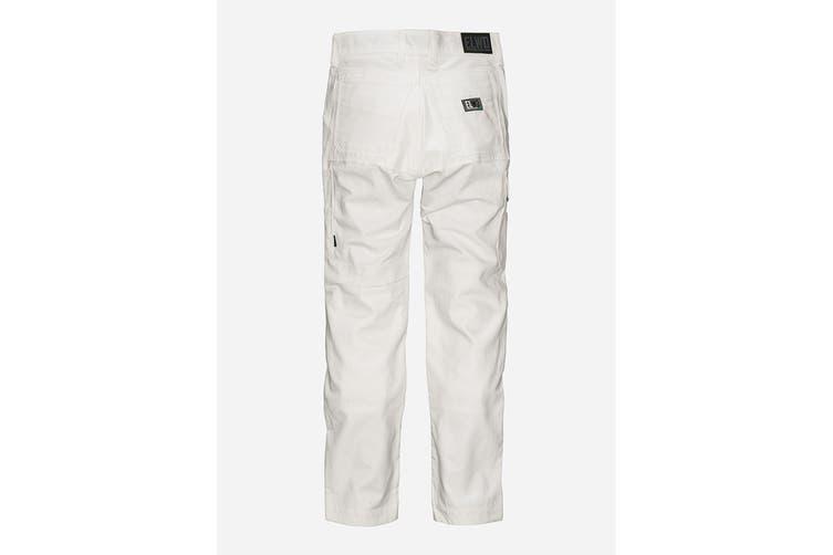 Elwood Women's Utility Pant (White, Size 9)