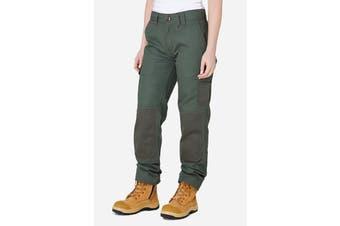 Elwood Women's Utility Pant (Army, Size 12)