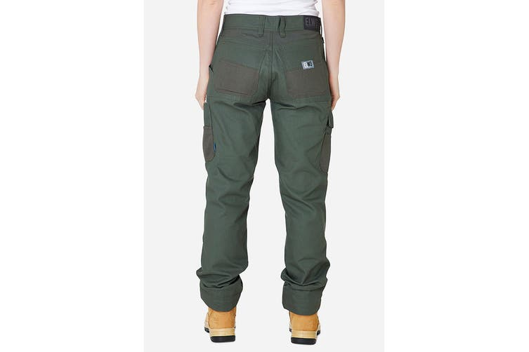 Elwood Women's Utility Pant (Army, Size 6)
