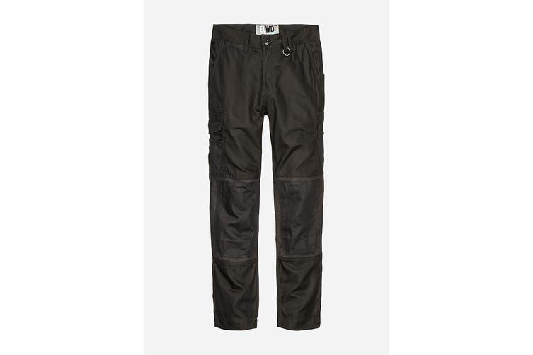 Elwood Women's Utility Pant (Black, Size 8)