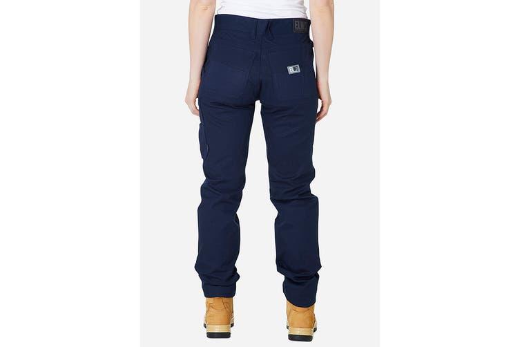 Elwood Women's Basic Pant (Navy, Size 6)