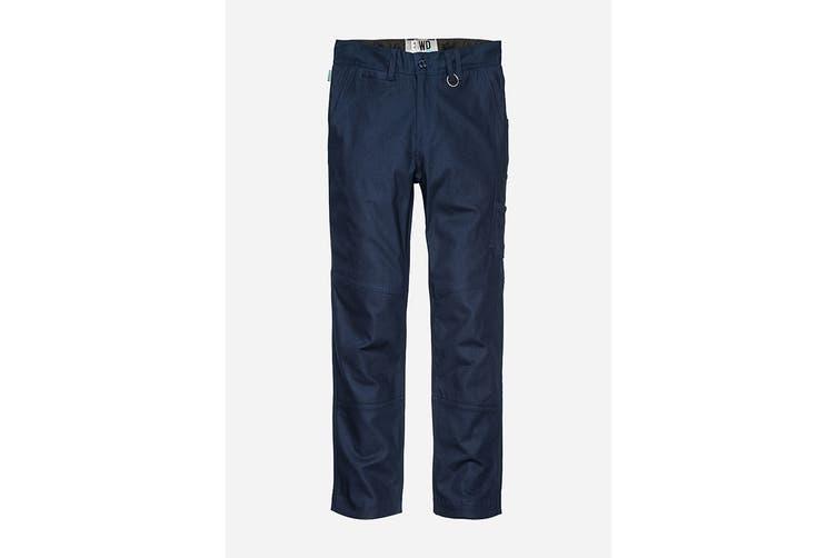 Elwood Women's Basic Pant (Navy, Size 8)
