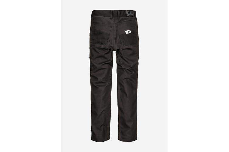 Elwood Women's Basic Pant (Black, Size 6)