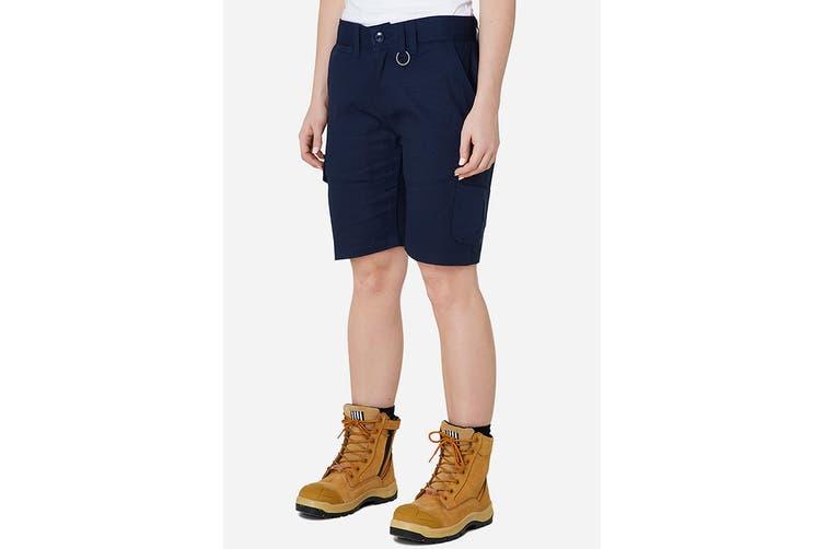 Elwood Women's Utility Short (Navy, Size 14)
