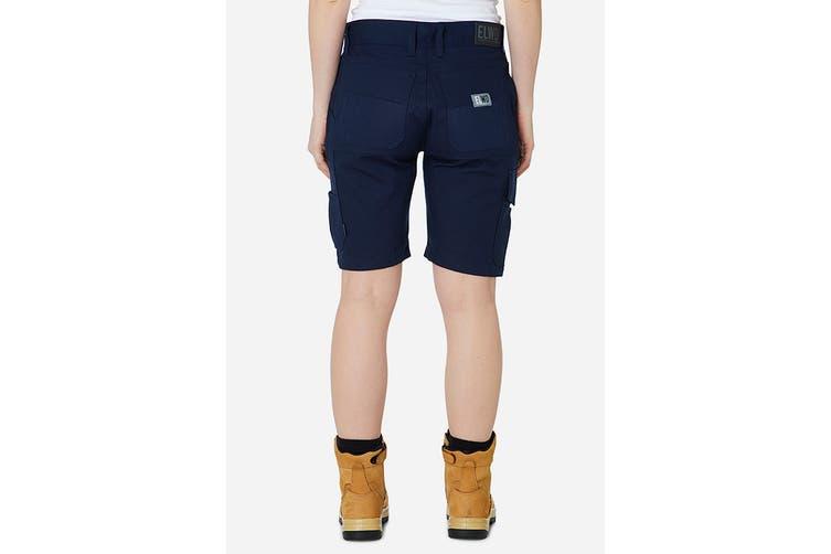 Elwood Women's Utility Short (Navy, Size 6)