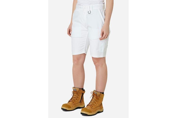 Elwood Women's Utility Short (White, Size 18)