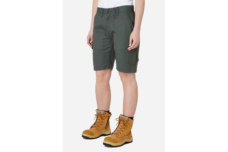 Elwood Women's Utility Short (Army, Size 10)