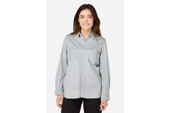 Elwood Women's Utility Shirts (Dove Grey)
