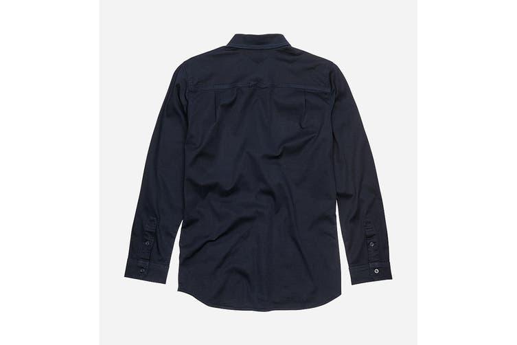 Elwood Women's Utility Shirts (Navy, Size 3XL)