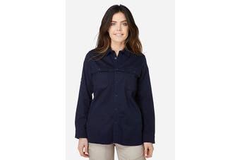 Elwood Women's Utility Shirts (Navy)