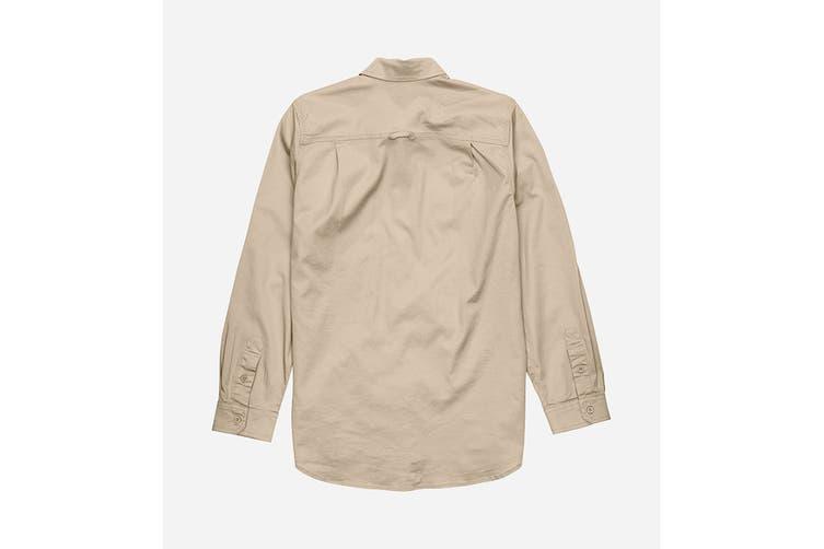 Elwood Women's Utility Shirts (Light Stone, Size XS)