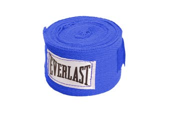 "Everlast 108"" Hand Wraps (Blue)"