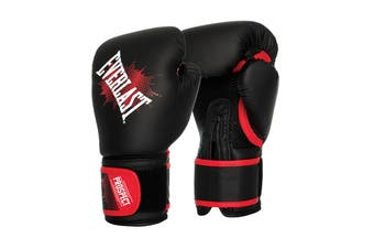Everlast Prospect Junior Glove 6oz. (Black/Red)