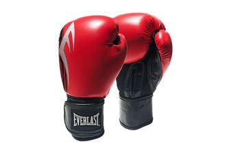 Everlast Pro Style Power Glove 16oz. (Black/Red)