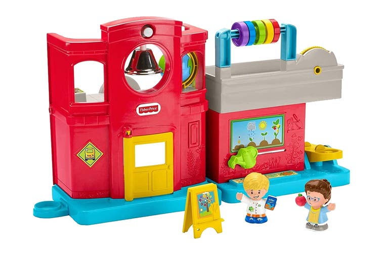 Fisher-Price Little People Friendly School Interactive Playset