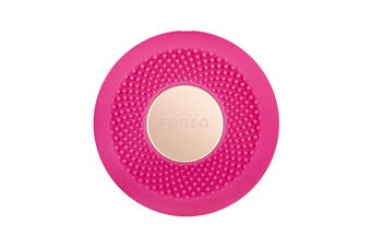 Foreo UFO Mini Smart Mask Treatment Device with Red/Green/Blue LED Lights - Fuchsia (F4330)