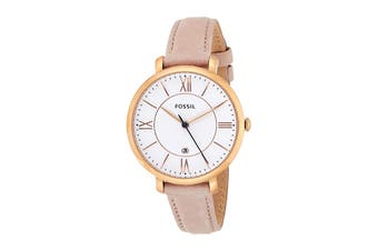 Fossil Jacqueline Analogue Watch - Pink  (ES3988)
