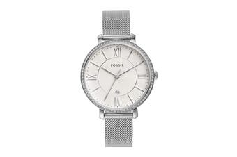 Fossil Jacqueline Analogue Watch - Silver  (ES4627)