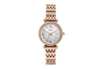 Fossil Carlie Mini Analogue Watch - Rose Gold (ES4648)