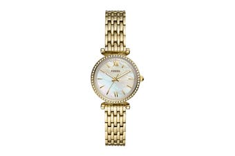 Fossil Carlie Mini Analogue Watch - Gold (ES4735)