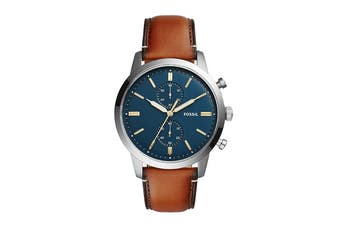 Fossil 44Mm Townsman Chronograph Watch - Brown (FS5279)