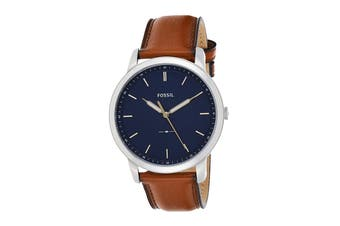 Fossil The Minimalist  3h Analogue Watch - Brown (FS5304)